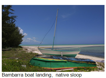 Bambarra boat landing, Middle Caicos, Turks and Caicos Islands
