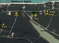 Bambarra Interior Lots Map